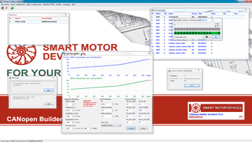 CANopen Builder - software for stepmotor controllers configuring